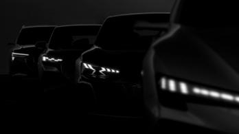 Négyféle alapra készül Audi villanyautó