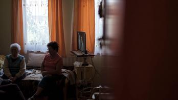 A demenseknek már az idősotthon a haza