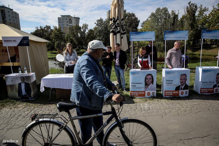 Fideszes kampány kitelepülés Szegeden