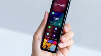 Félbevágott mobil lesz az új divat?