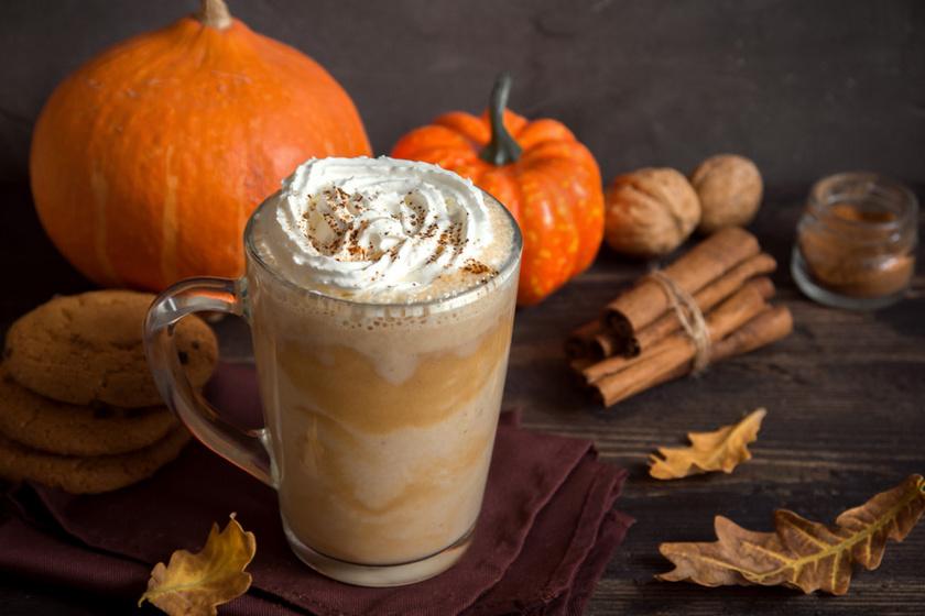 Fűszeres pumpkin spice latte: nagyon egyszerű elkészíteni mindenki kedvencét