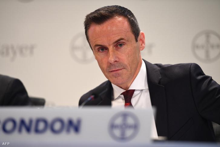 A Bayer Cropscience vezetője, Liam Condon