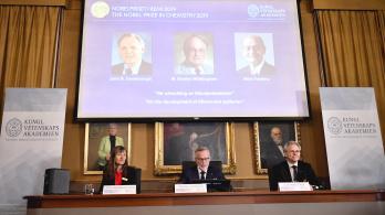Kémiai Nobelt kaptak a lítiumion-aksik feltalálói