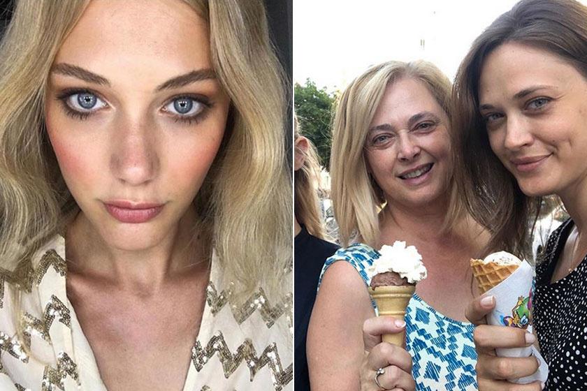 Bianca és Sára is az édesanyja szépségét örökölte.