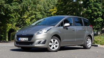 Használtteszt: Peugeot 5008 1,6 HDI 115, Access – 2015.