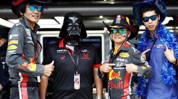 Nagyon érik a vasárnapi időmérő az F1-en