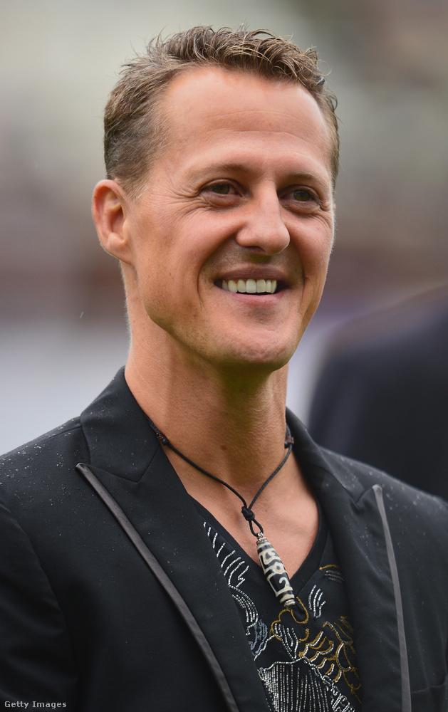 Az év utolsó sokkoló híre Michael Schumacherről szólt: a Forma 1-es autóversenyző december 30-án szenvedett síbalesetet és esett kómába, ez a szeptemberi fotó az egyik utolsó alkalom volt, amikor a nyilvánosság előtt szerepelt