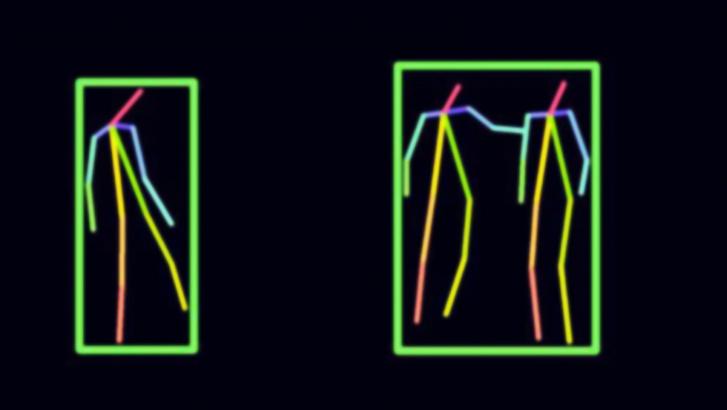 Rádióhullámmal érzékelt emberi test képe