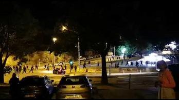 Magyar szurkolókra támadtak Splitben, egyikük kórházba került