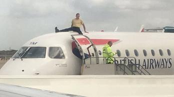 Klímaaktivista miatt kellett visszafordulnia egy repülőnek Londonba
