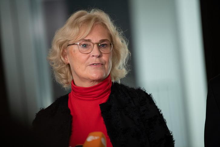 Christine Lambrecht 2019. október 10-én.