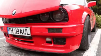 Majdnem kimaradt jelenet: BMW E30 800 lóerővel
