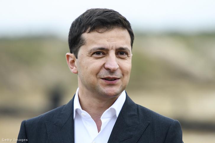 Volodimir Zelenszkij 2019. szeptember 30-án.
