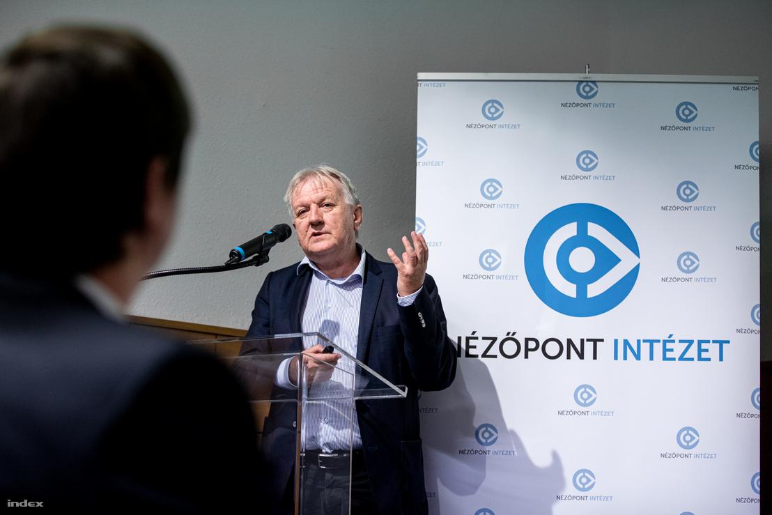 Závecz Tibor, a ZRI-Závecz Research alapító-ügyvezetője