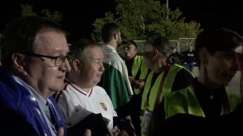 Jeggyel is stadionon kívül maradt több magyar szurkoló Splitben
