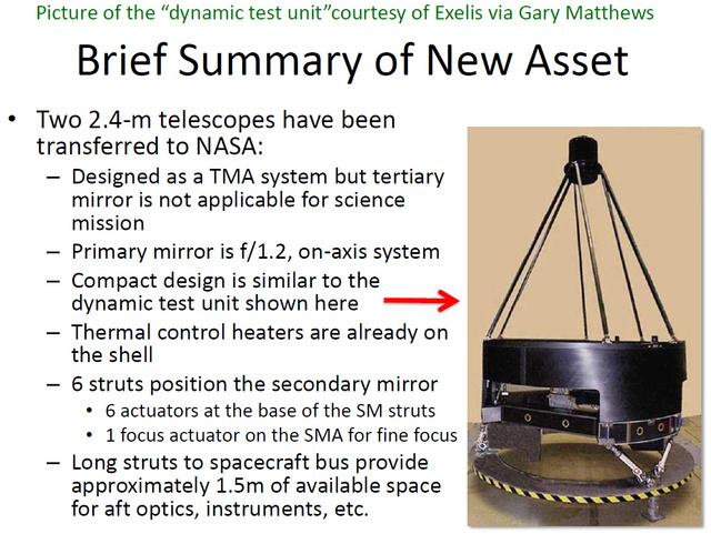 A fentebb láthatóhoz hasonló tükre van a most kapott kémműholdaknak is.