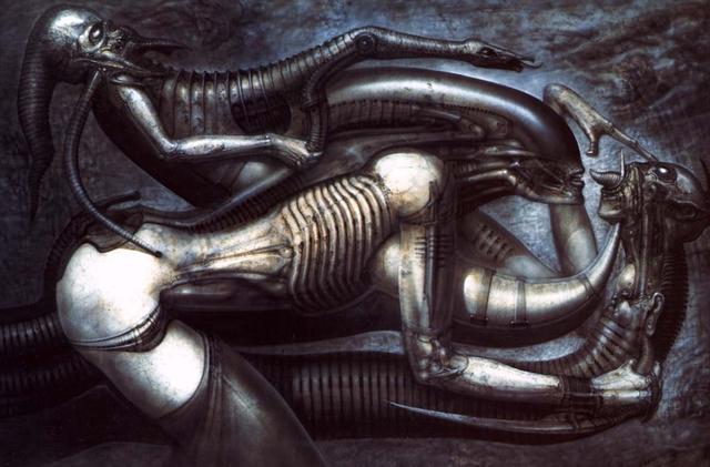 Nem ördögtől való az ember-Alien hibrid (H.R. Giger: Necronomicon V)