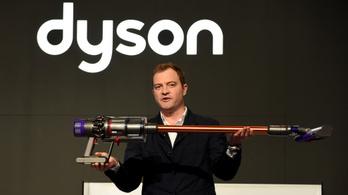 Szuperautó helyett marad a porszívóknál a Dyson