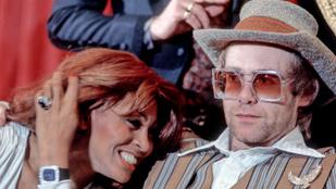 Tina Turner anno lekövérezte Elton Johnt, aki visszaanyázott, de már kibékültek