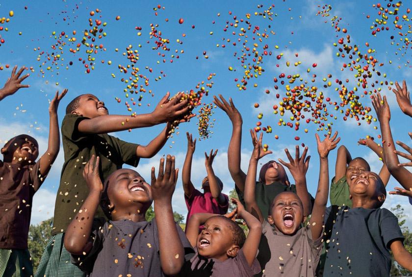 Steve McCurry fotója a 2015-ös naptárból.