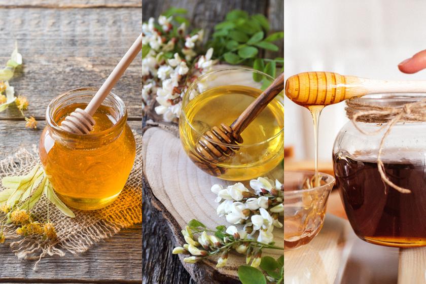 Hársméz, akácméz, erdei méz - mindhárom mézfajta más hatóanyagot tartalmaz.