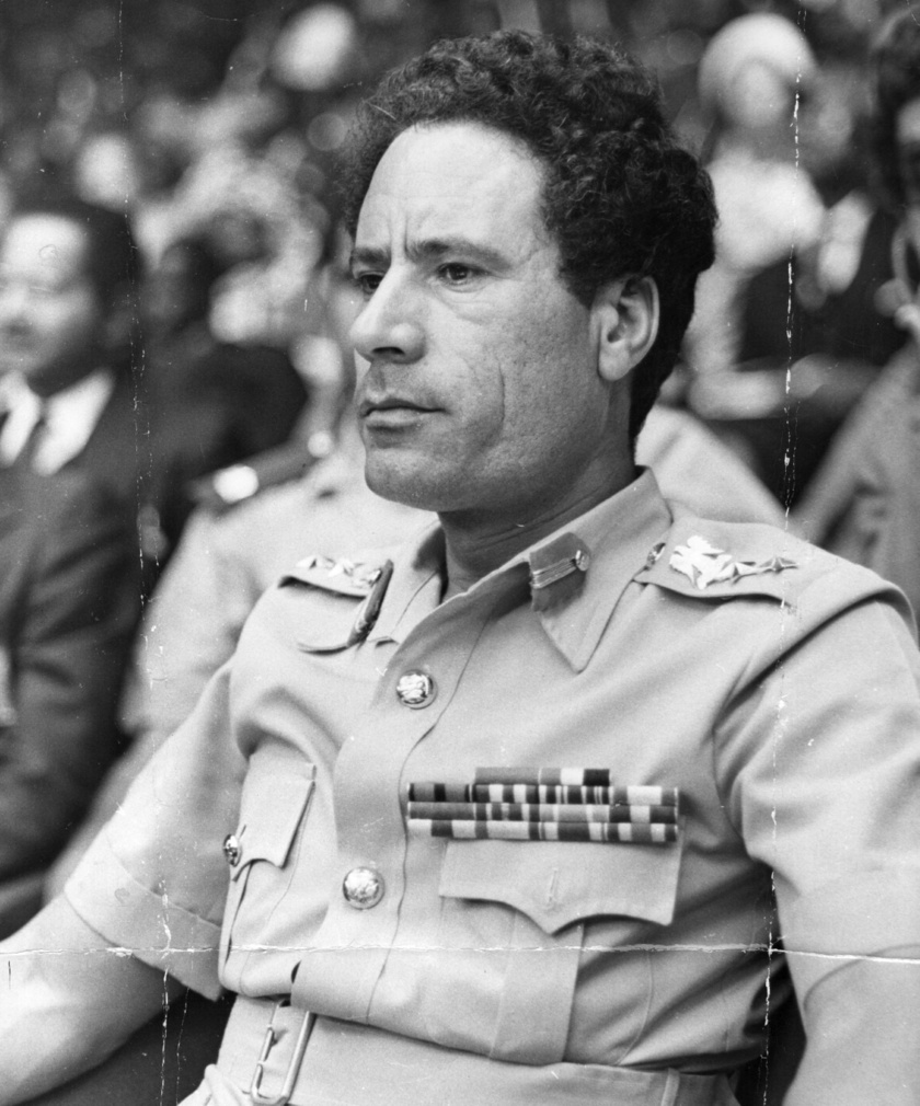 Kadhafi 1979-ben.