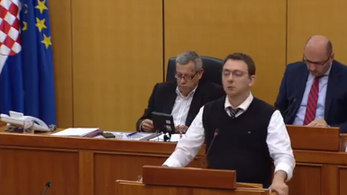 Borkai ügyéről beszéltek a horvát parlamentben