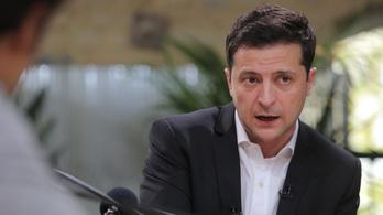 14 órás sajtótájékoztatót tartott Volodimir Zelenszkij ukrán elnök