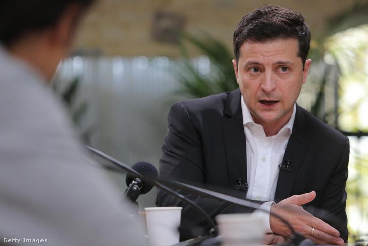 Volodimir Zelenszkij 2019. október 10-én.