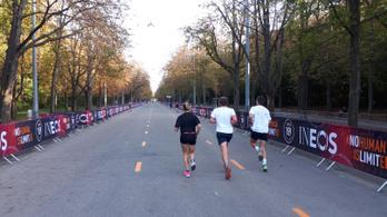 A kétórás maraton futói még kezet sem foghatnak egymással