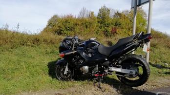 Meghalt egy motoros a Bakonyban