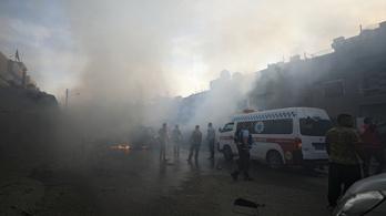 ENSZ: A szerdai offenzíva óta 100 ezer szír hagyta el a lakhelyét