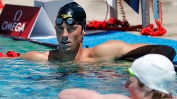 Olimpiai bajnok úszót kaptak doppingoláson