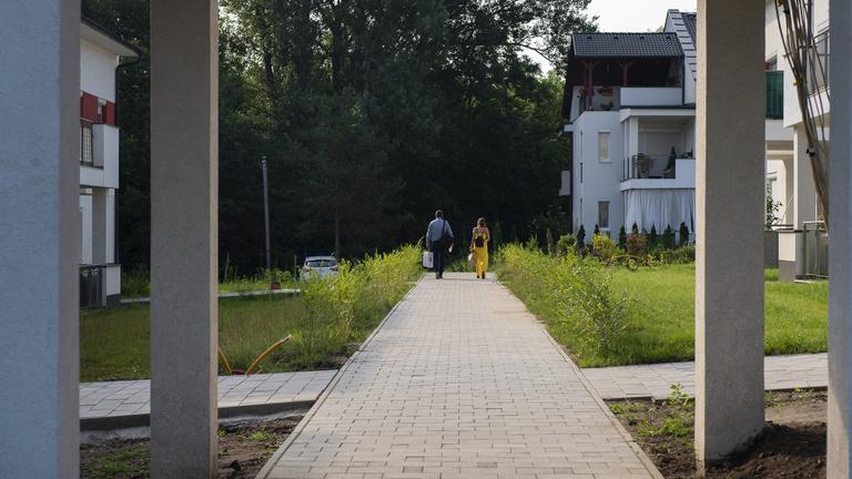 Bűnügyi nyomozás megy a veresegyházi lakópark miatt