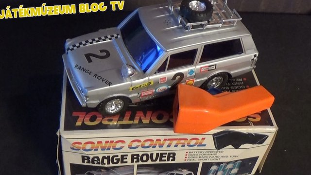 Távirányítós Range Rover a múltból