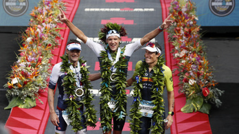 Rekorddal nyerték az Ironman-vb-t