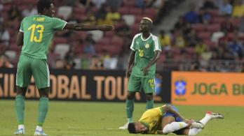 Neymar megsérült, a brazilok ikszeltek