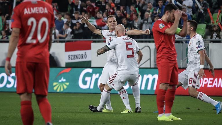 A kötelező mázlival megvan, 1-0-ra vertük Azerbajdzsánt