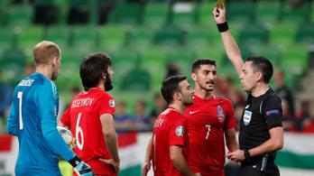 Kiakadt az azeri kapitány a jogtalanul elvett gól után