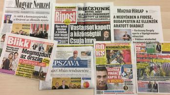 Csapás, megmozdult az ország, az ellenzéké Budapest - hétfői napilapok