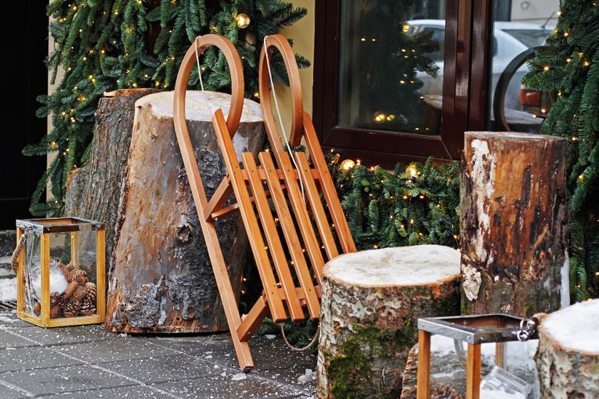 Ki ne dobd a régi szánkót - 5 karácsonyi ötlet, ami elképesztően feldobja az otthonod