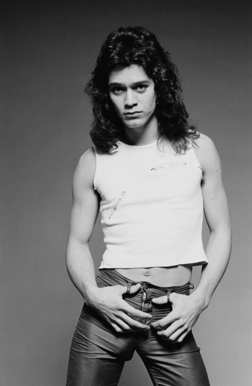 Eddie Van Halen régen.