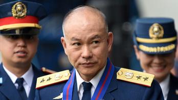 Lemondott a rendőrség országos parancsnoka a Fülöp-szigeteken