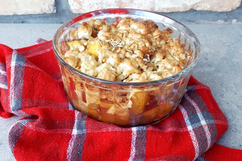 Almás-szilvás crumble – Az egyik legjobb őszi desszert