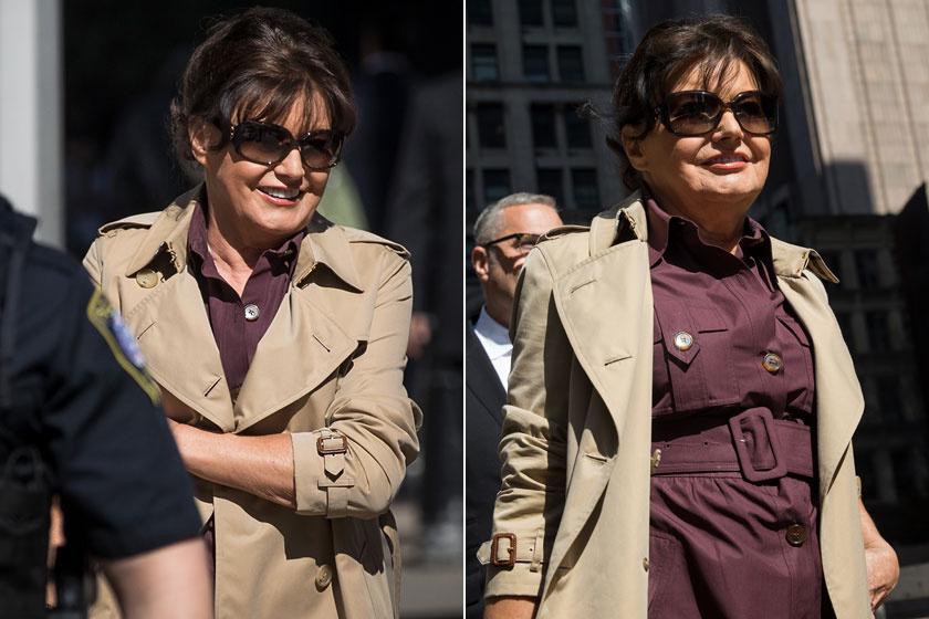 Ezt a két fotót elnézve Amalija nem néz ki 73 esztendősnek, bátran letagadhatna pár évet a korából.