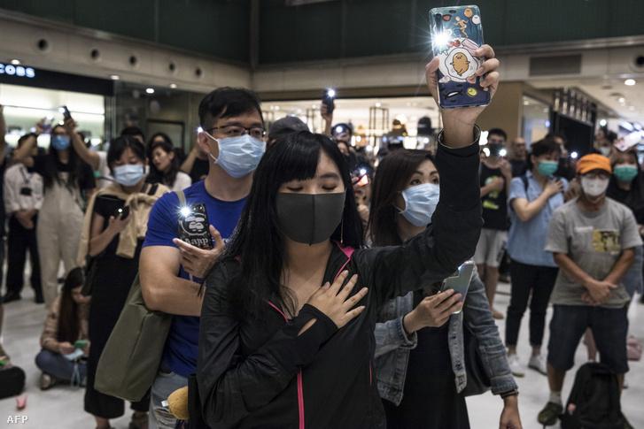 Tüntetési hullám kezdődött Hongkongban a kínai kiadatási törvénytervezet ellen 2019. június 9-én