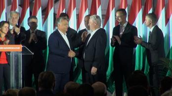 Tarlós István és Orbán Viktor beszéde az önkormányzati választások után