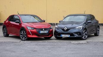 Összehasonlító: Peugeot 208 GT Line BlueHDi 100 – Renault Clio RS Line dCi 115 - 2019.