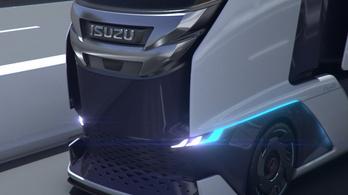 Az Isuzu is megmutatja, milyennek képzeli a kamionok jövőjét