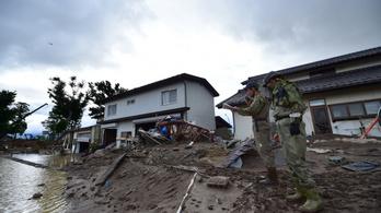 Tovább nőtt a japán tájfun áldozatainak száma